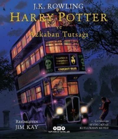 Harry Potter 3 Harry Potter ve Azkaban Tutsağı Resimli Özel Baskı