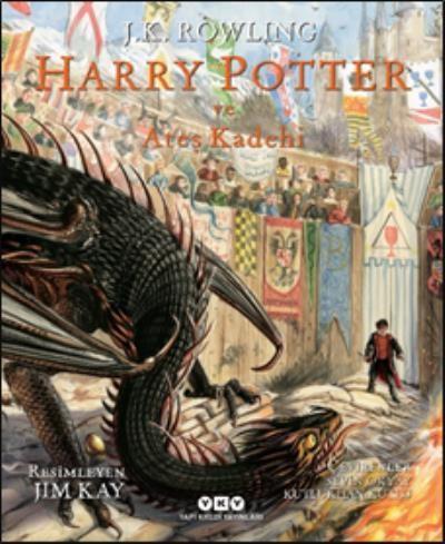 Harry Potter ve Ateş Kadehi 4 Resimli Özel Baskı