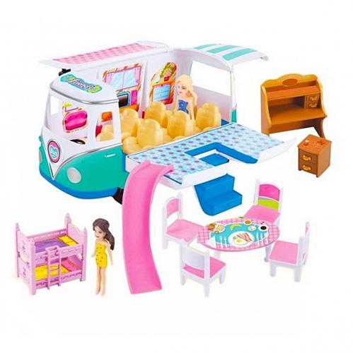 Hommy Vosvos Karavan Minibüs Oyun Seti