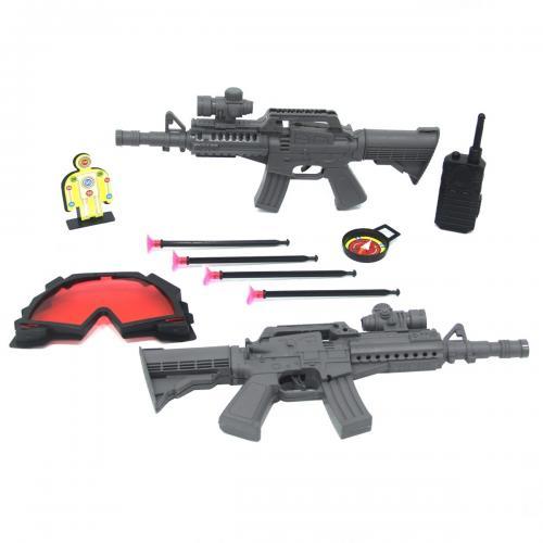 Kartela Ok Atan 2'li Tüfek Seti