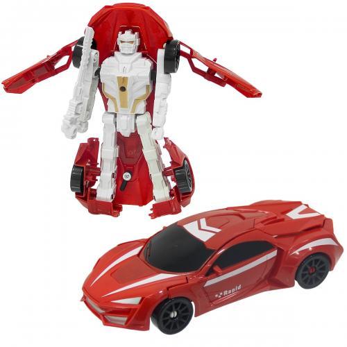 Kartela Robota Dönüşen Araba