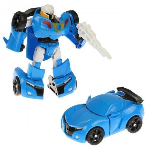 Kutulu Robota Dönüşen Araba