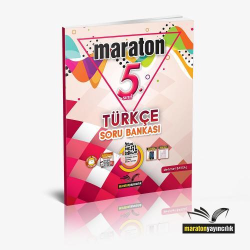 Maraton 5.Sınıf Türkçe Soru Bankası