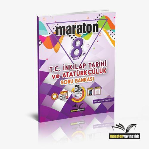 Maraton 8.Sınıf T.C. İnkılap Tarihi ve Atatürkçülük Soru Bankası