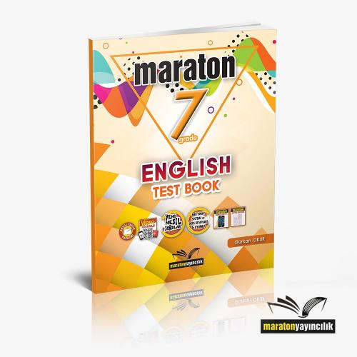 Maraton Grade 7 English Test Book
