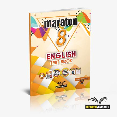 Maraton Grade 8 English Test Book