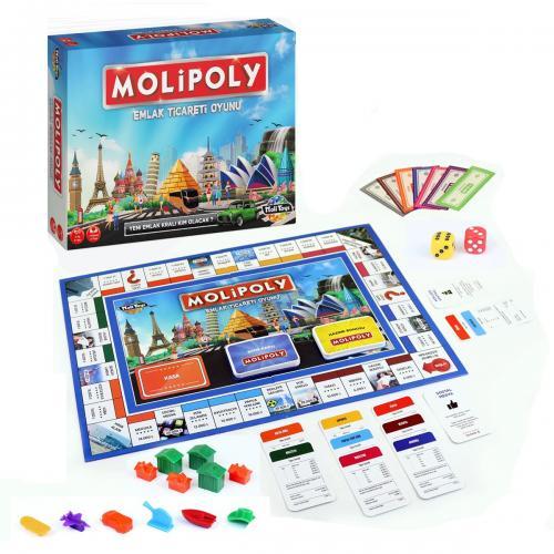Molipoly Emlak Ticareti Oyunu