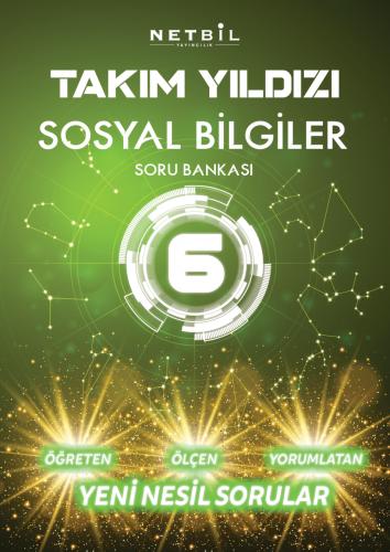 Netbil Yayınları 6. Sınıf Sosyal Bilgiler Takım Yıldızı Soru Bankası
