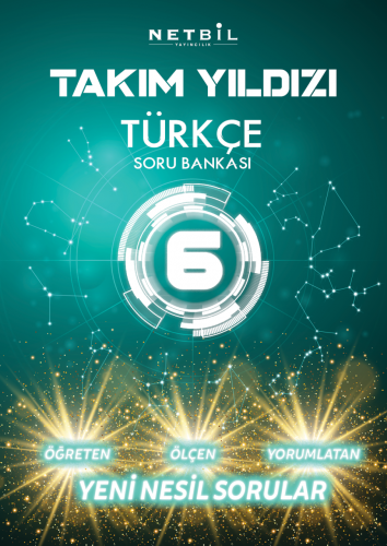 Netbil Yayınları 6. Sınıf Türkçe Takım Yıldızı Soru Bankası