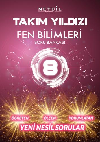 Netbil Yayınları 8. Sınıf Fen Bilimleri Takım Yıldızı Soru Bankası