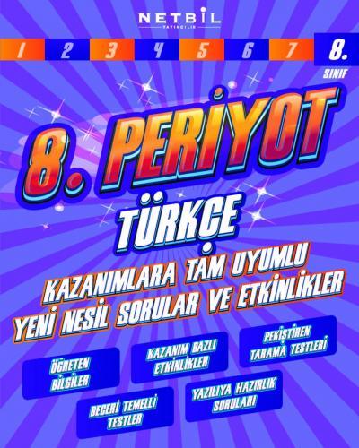 Netbil Yayınları 8. Sınıf Türkçe Periyot