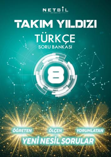 Netbil Yayınları 8. Sınıf Türkçe Takım Yıldızı Soru Bankası