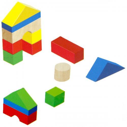 Playwood Eğitici Ahşap Bloklar 29 Parça