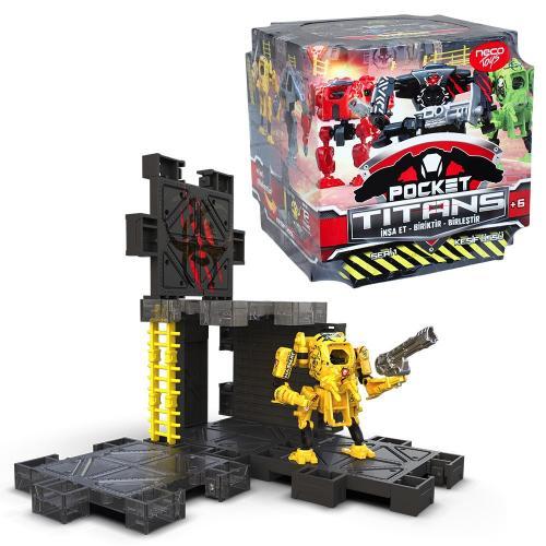 Pocket Titans Seri 1 Sürpriz Paket
