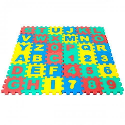 Polimat Harf ve Rakam Puzzle 36 Parça