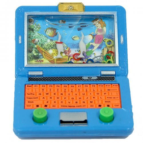 Poşetli Laptop Figürlü Su Oyunu