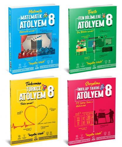 Arı Yayınları 8.Sınıf Atölyem Set