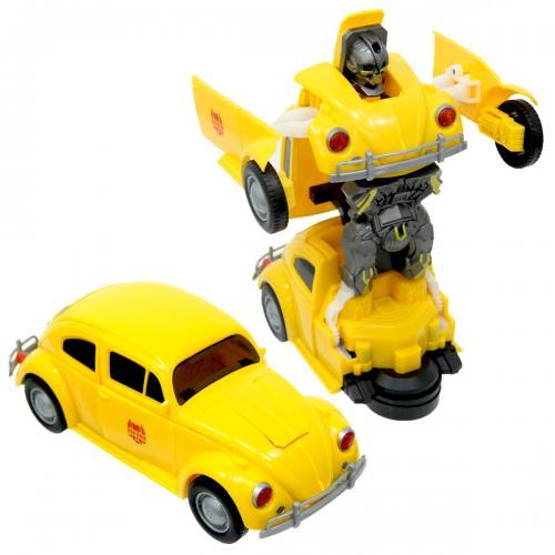 Robot Car Pilli Robota Dönüşen Araba