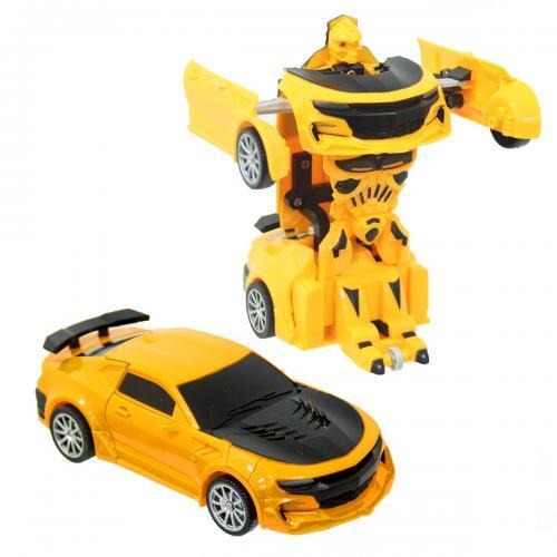 Robota Dönüşen Araba