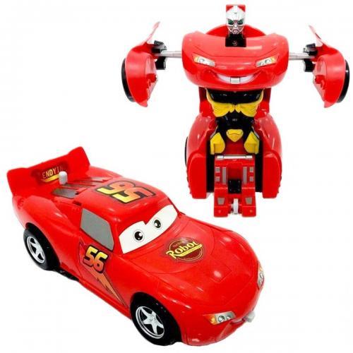 Robota Dönüşen Çek Bırak Araba
