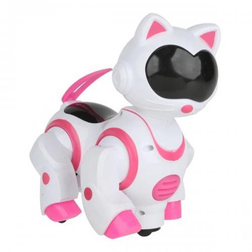 Sesli Işıklı Danseden Pilli Robot Kedi