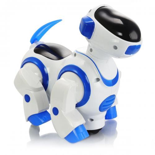 Sesli Işıklı Danseden Pilli Robot Köpek