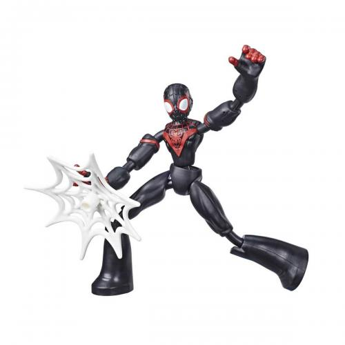 Spiderman Bend Flex Miles Morales Figür