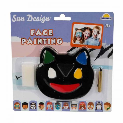 Sun Design Yüz Boyası 6 Renk