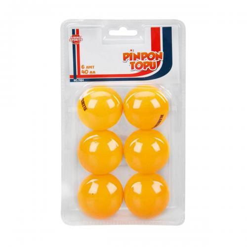 Sunman 6'lı Pinpon Topu