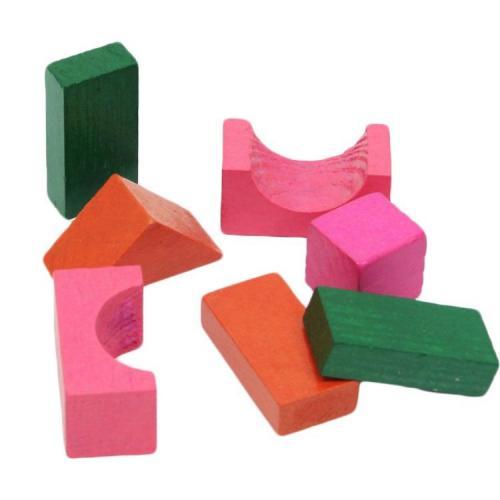 Sunman Ahşap Bloklar 30 Parça