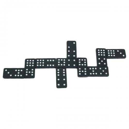 Sunman Ahşap Siyah Domino