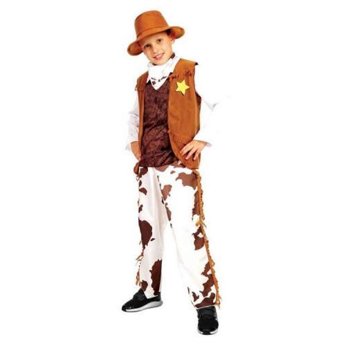Sunman Erkek Kovboy Kostümü (4-6 Yaş)