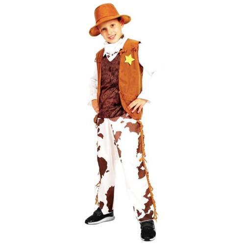 Sunman Erkek Kovboy Kostümü (7-9 Yaş)