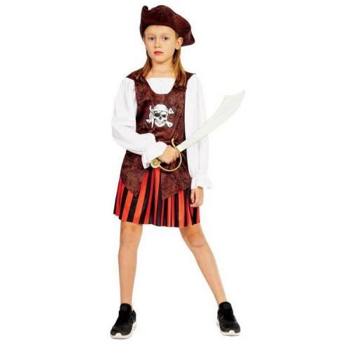 Sunman Kız Korsan Kostümü (7-9 Yaş)