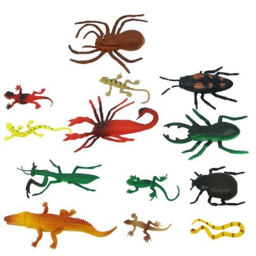 Sunman Sürüngenler ve Böcekler Poşetli