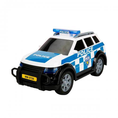 Sunman Teamsterz Sesli ve Işıklı Polis Arabası 27 cm