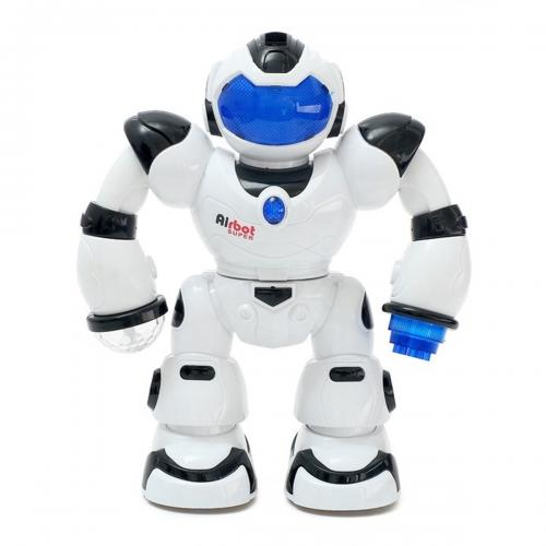 Super Warrior Sesli Işıklı Pilli Robot