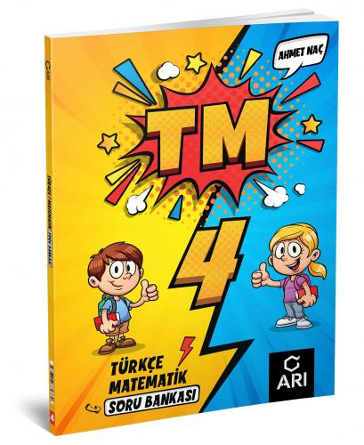 Arı Yayınları 4.Sınıf Türkçe Matematik Soru Bankası
