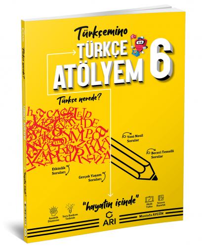 Arı Yayınları 6.Sınıf Türkçe Atölyem