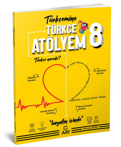 Arı Yayınları 8.Sınıf Türkçe Atölyem