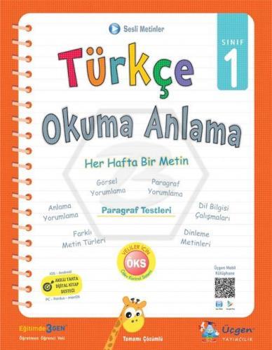Üçgen Yayıncılık 1. Sınıf Türkçe Okuma Anlama