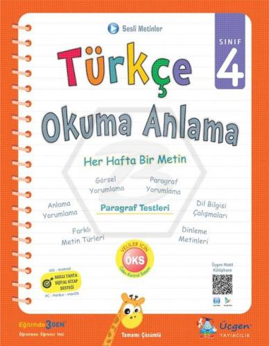 Üçgen Yayıncılık 4. Sınıf Türkçe Okuma Anlama