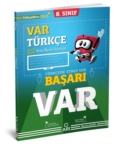 Arı Yayınları 8.Sınıf Var Türkçe Soru Bankası