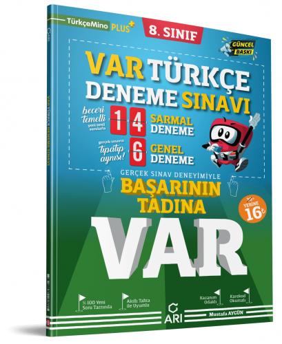 Arı Yayınları 8.Sınıf Var Türkçe Deneme