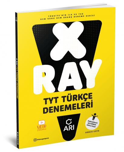 Arı Yayınları X Ray Tyt Türkçe Denemeleri