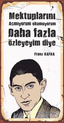 Kafka Ahşap Poster