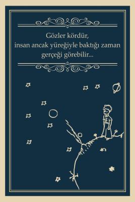 Küçük Prens Ahşap Poster