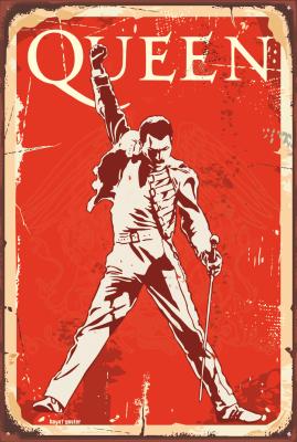 Queen Ahşap Poster
