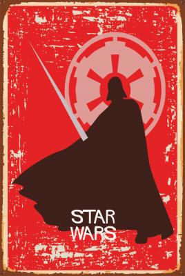 Star Wars Ahşap Poster