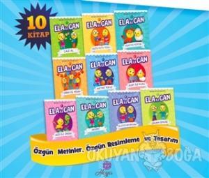 1. Sınıflar için Ela ile Can Serisi (10 Kitap Takım)